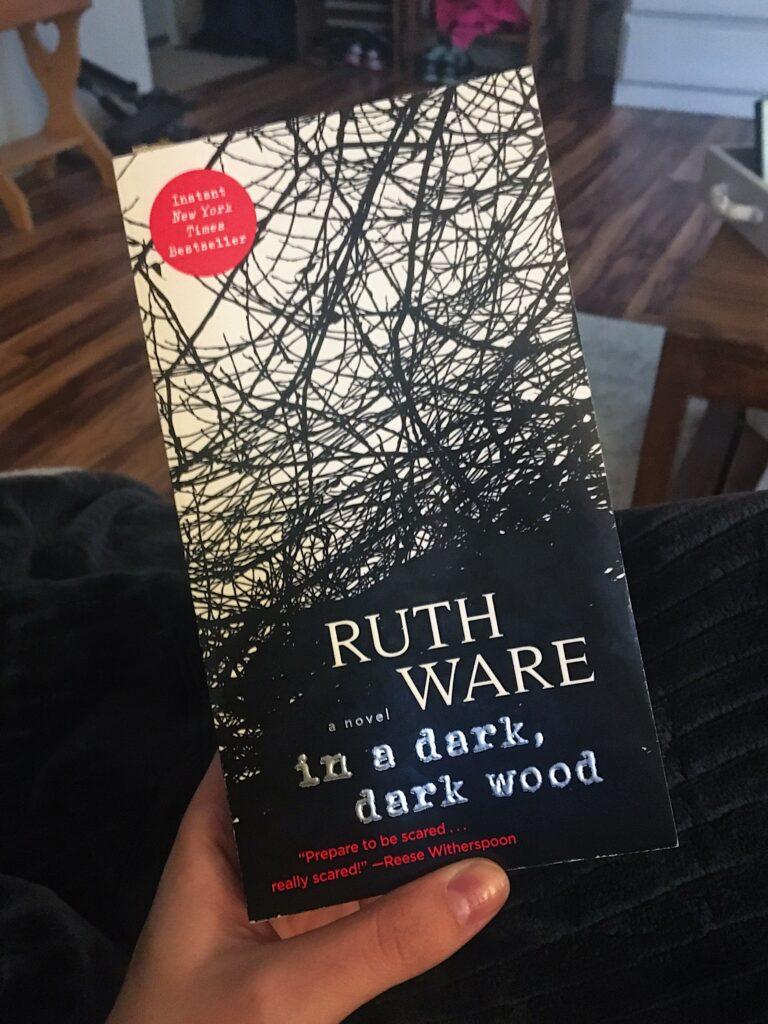 ruth ware in a dark dark wood